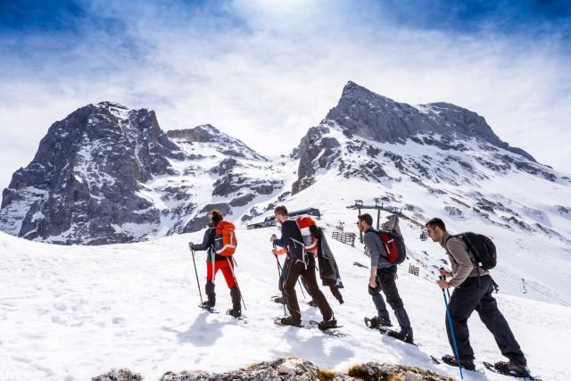 Non solo sci: sul Gran Sasso, tra snowkite e rifugi