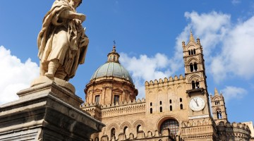 The beautiful Palermo cathedral