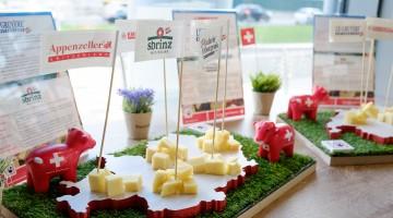 A Milano, undici aperitivi per scoprire i segreti dei formaggi svizzeri