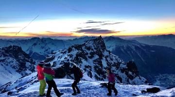 Grandi emozioni in Val di Sole: mai sciato alle prime luci dell'alba?
