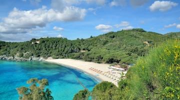 Fetovaia,Beach of Marina di Campo,Island of Elba,Italy