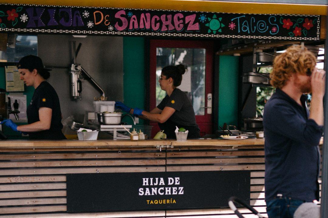 Hija de Sanchez, Copenhagen