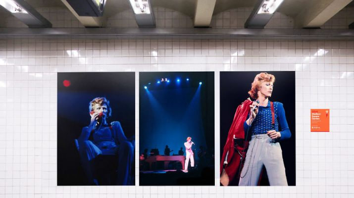 "Foto La fermata ""David Bowie"" a New York"
