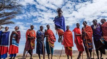 Maasai Village, Ngorongoro Crater Reserve, Tanzania