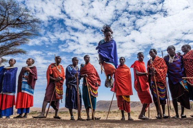 Un villaggio Masai in Tanzania (ph Jonathan Irish 2017)