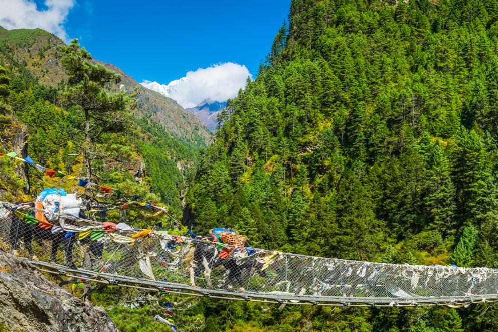 I ventidue ponti sospesi più belli del mondo