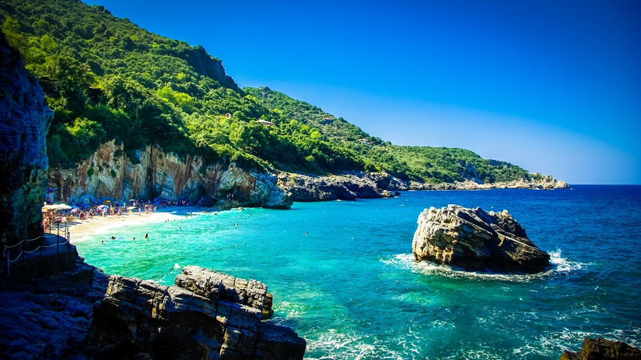 12 località di mare (nel sud dell'Europa)