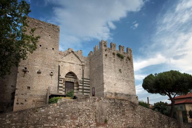 Castello dellImperatore_Prato Toscana Lato Ovest