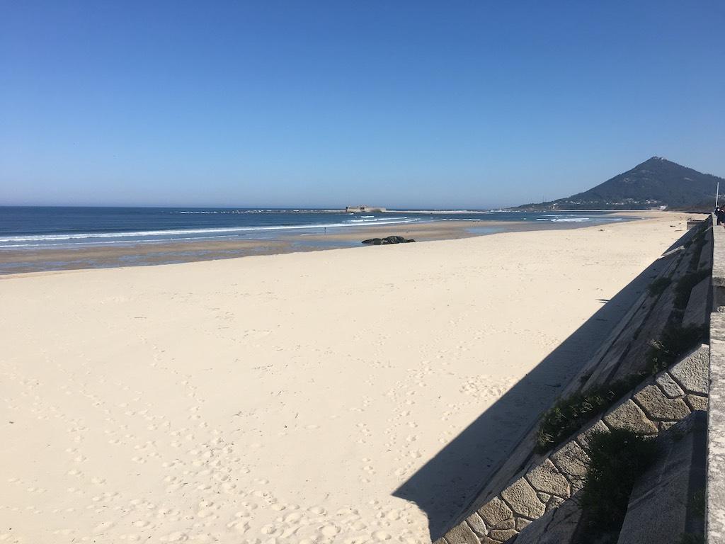 Verso Santiago, lungo la costa portoghese