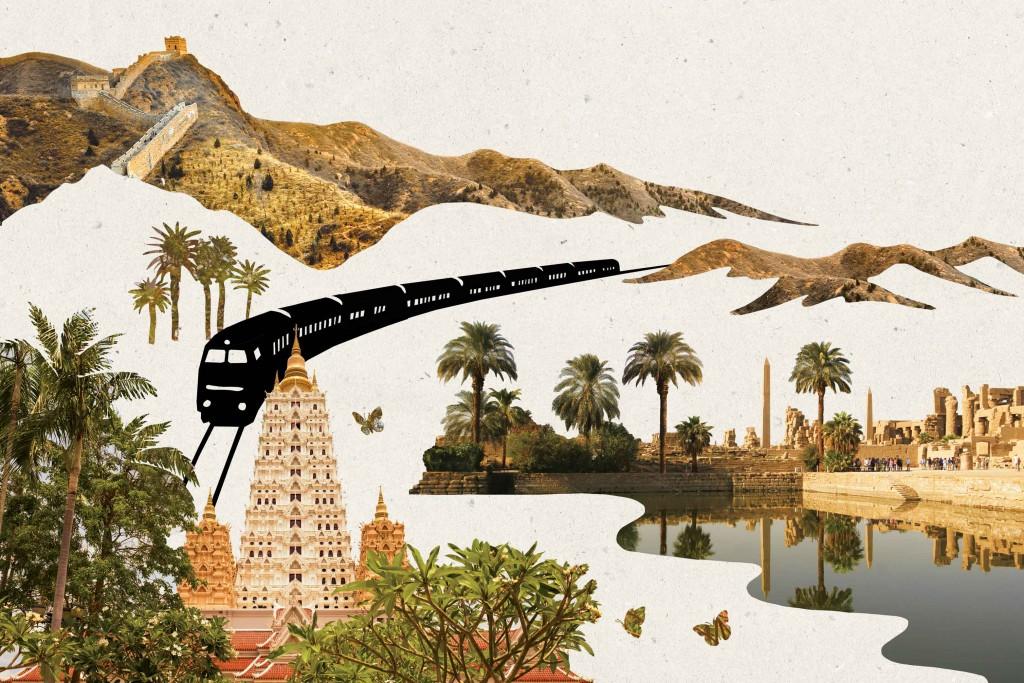 Pag-74-75_Storia-del-mondo-in-500-viaggi-in-treno,-cap-II,-illustrazione-di-Lynn-Hatzius