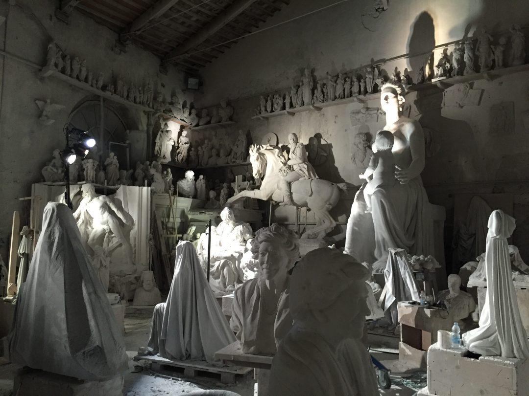 Carrara: lo spettacolo nel marmo
