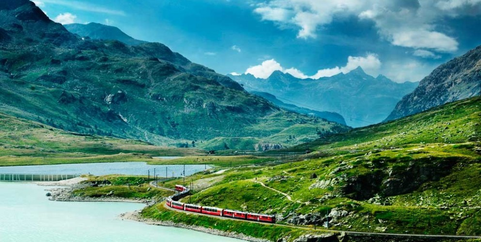 In Viaggio con Dove: a settembre, un weekend per scoprire la Svizzera in treno
