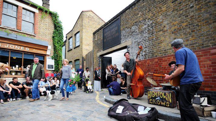 Foto Londra: nuovi quartieri a Est