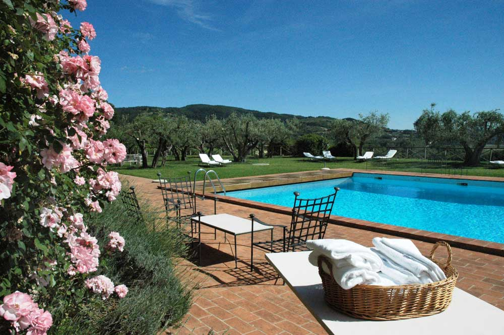 Le Tre Vaselle, wine resort in Umbria
