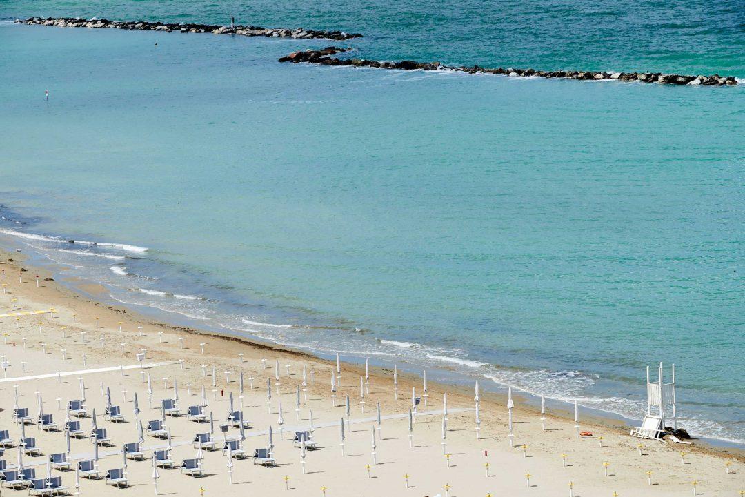Pesaro, tra spiagge e ciclabili sul mare