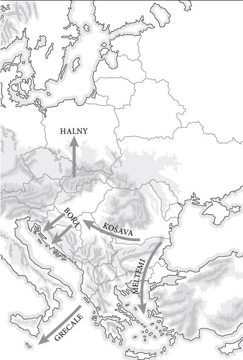 Venti dell'Europa Est.