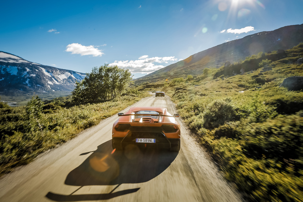 Norvegia on the road. In Lamborghini tra i fiordi