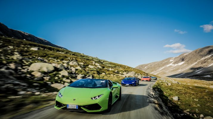 Foto Norvegia on the road. In Lamborghini tra i fiordi