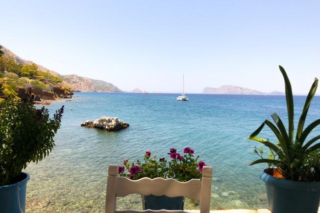 la vista dalla Taverna Marina