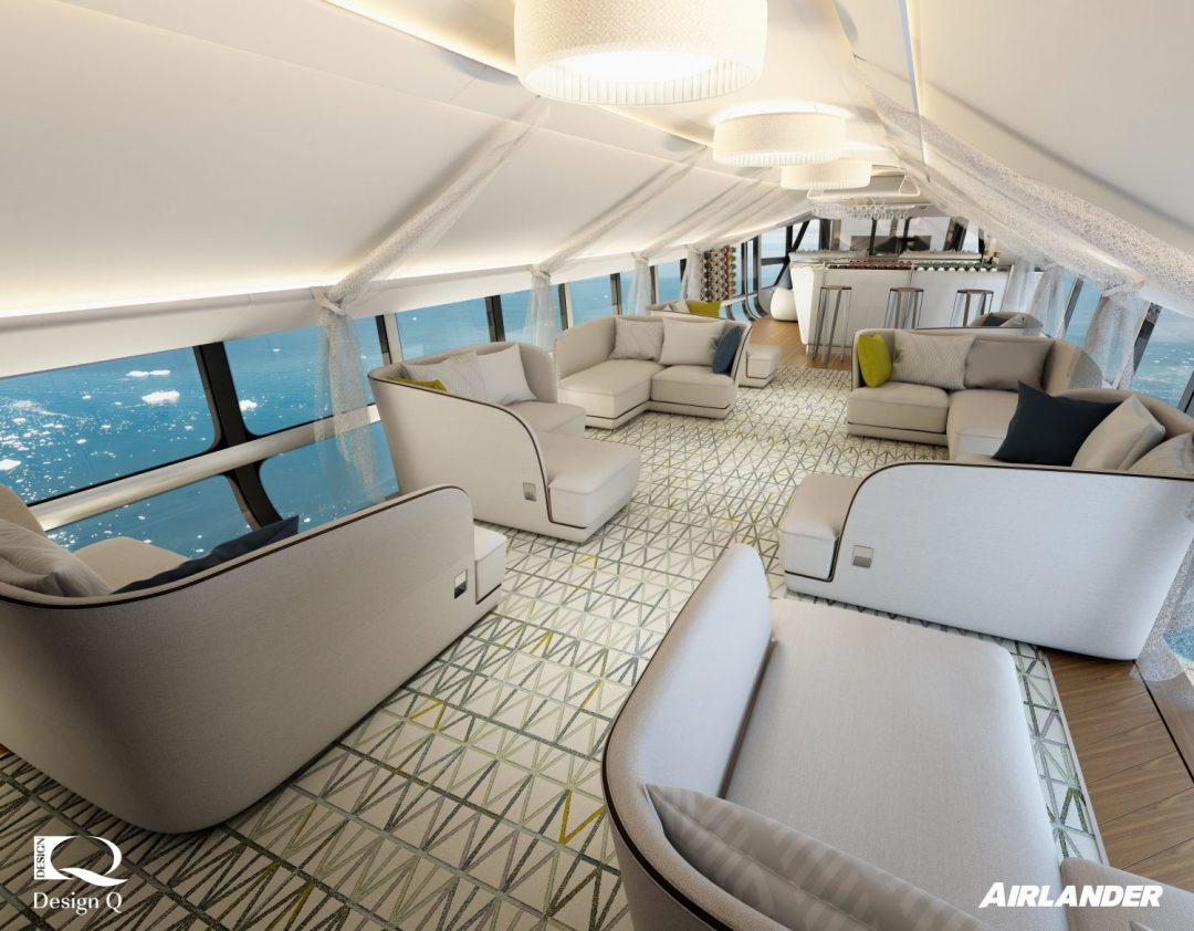 Il dirigibile più lussuoso del mondo