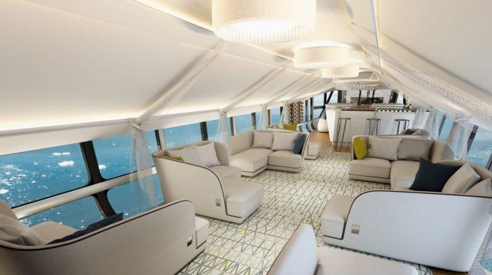 Foto Il dirigibile più lussuoso del mondo