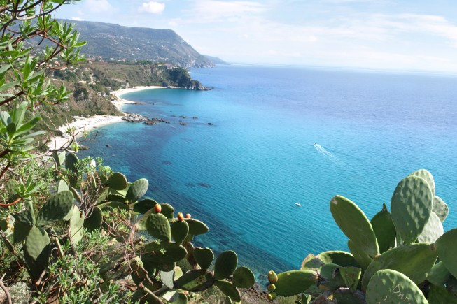 Attractive viewpoint in Calabria.
