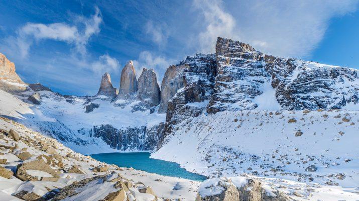 Foto Patagonia: ai piedi delle Torres del Paine