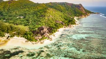 Anse Source d'Argent Beach La Digue Island Seychelles