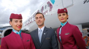 AirItaly_New_Uniforms_Farnborough_Airshow2018