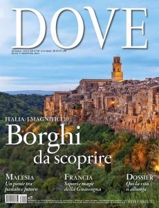 cover editoriale dove ottobre rivista viaggi