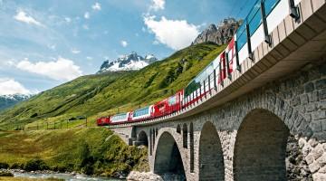 Svizzera in treno: 15 idee per un weekend