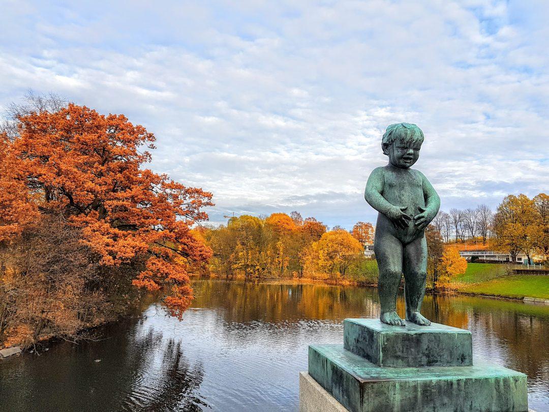 Il bello dell'autunno in città