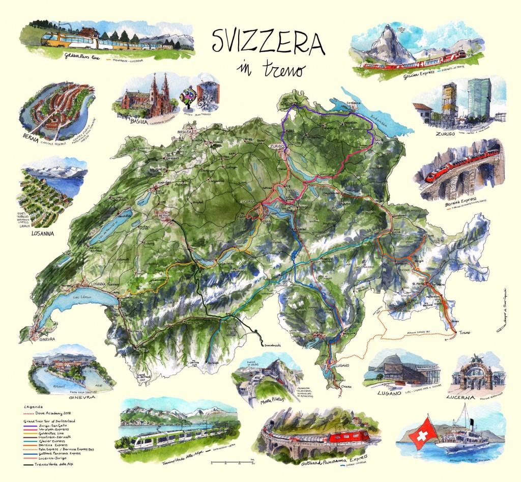 weekend-in-Svizzera-in-treno-MAPPA