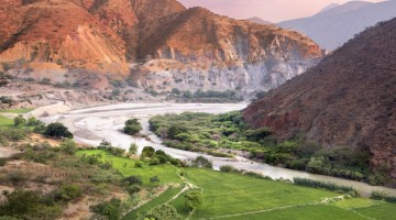 Huakabamba river valley