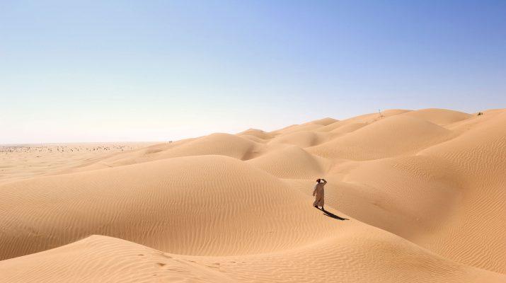 Foto Oman del sud, sabbie nobili