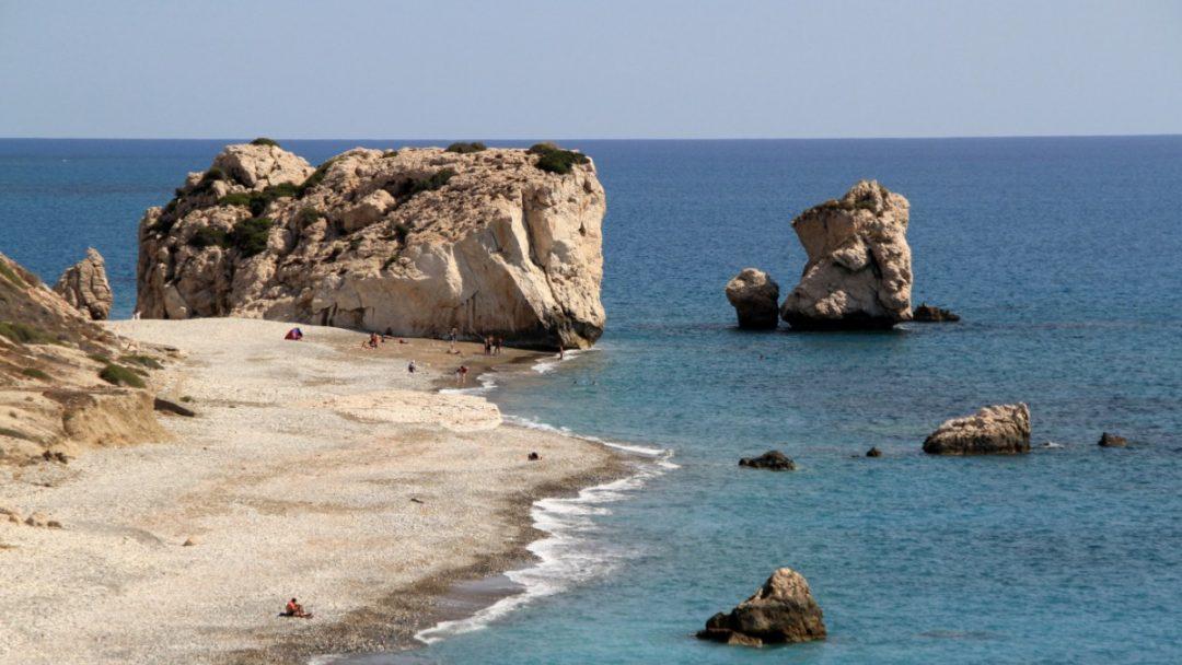 Paphos, Cipro: la Roccia di Afrodite