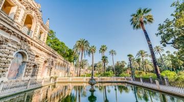 I giardini dei Reales Alcazares