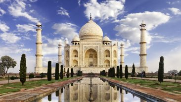 In Viaggio con Dove India Taj Mahal