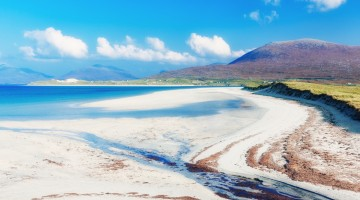 Luskentyre beach, Hebrides, Scotland