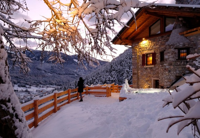 Case Di Montagna A Natale : Settimana bianca in italia case da affittare in montagna
