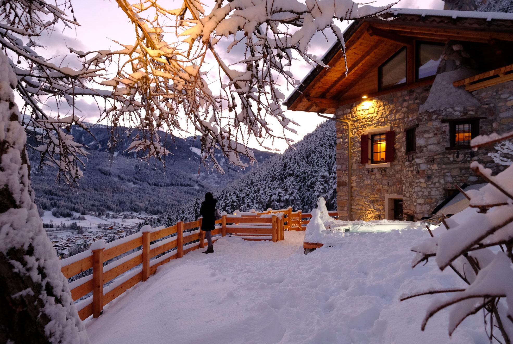 Settimana bianca in Italia: 14 case da affittare in montagna