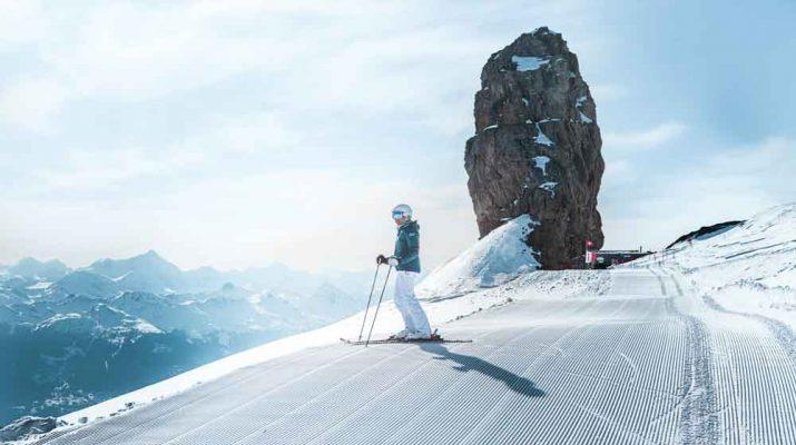 Foto Sciare in 14 mete dove c'è già la neve