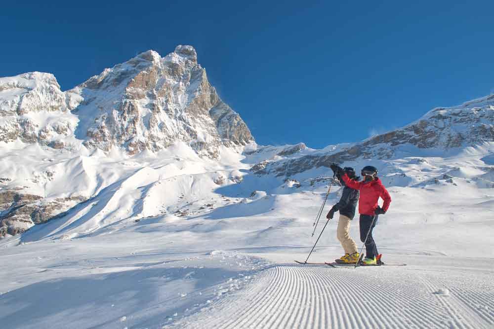 Sciare in 14 mete dove c'è già la neve