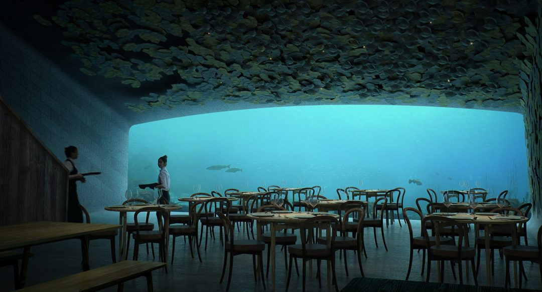 L'esperienza più esclusiva? Sotto il mare