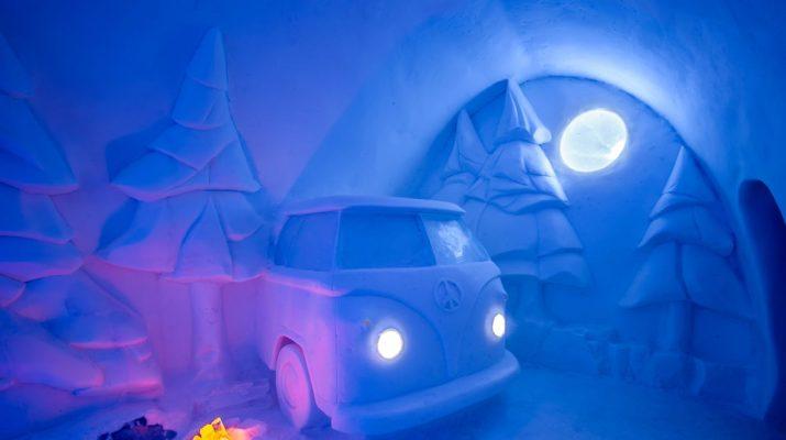 Foto Lapponia: una notte nell'hotel di ghiaccio