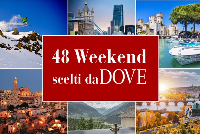 Weekend: 48 mete per i fine settimana del 2019 in Italia e all'estero
