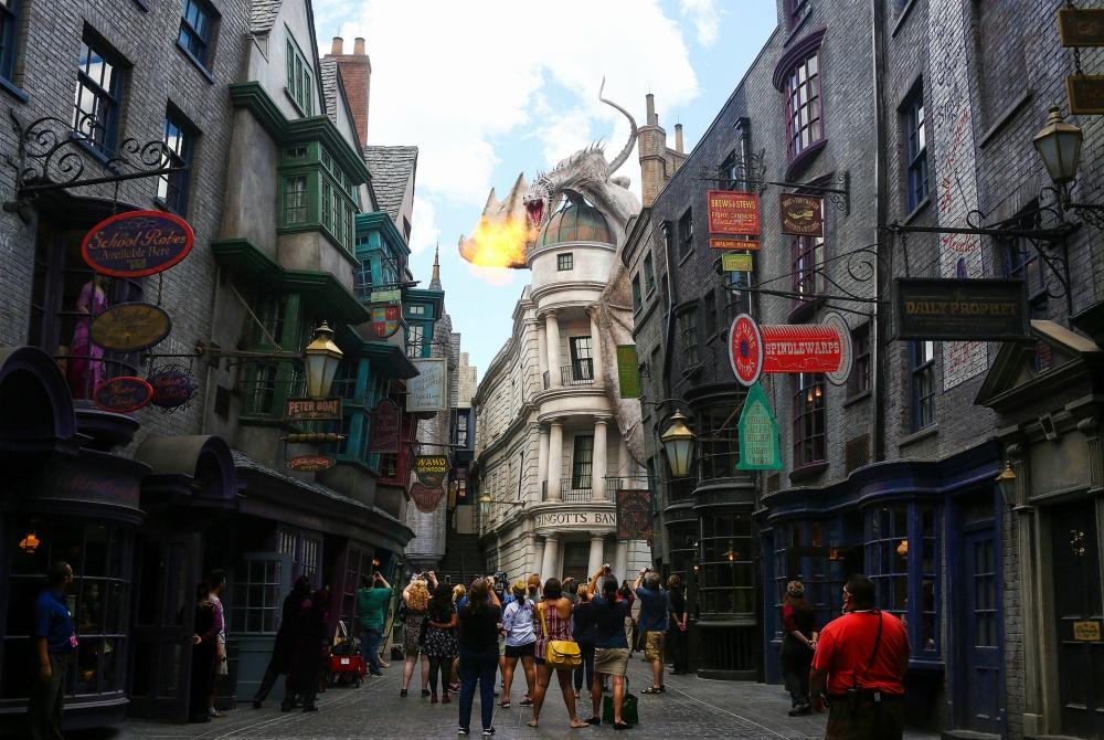 Viaggiare nel mondo di Harry Potter