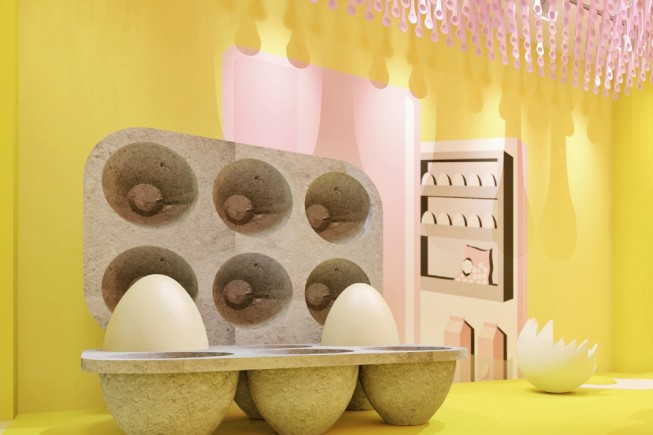 Musei pop-up: the egg house