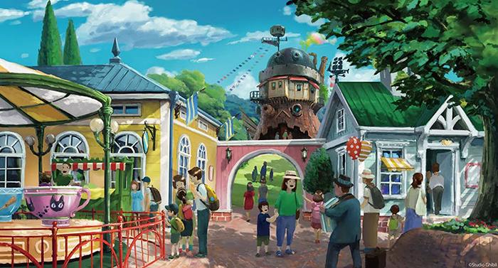 Il parco a tema dello Studio Ghibli