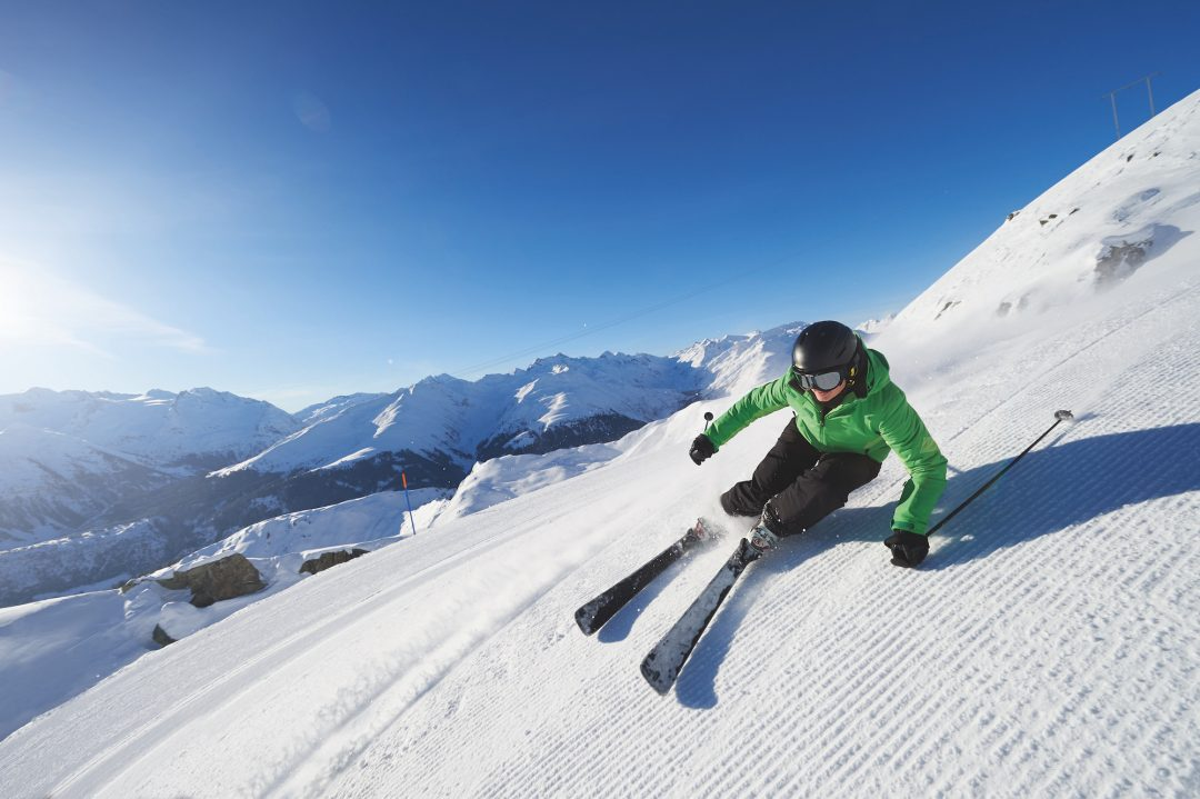 Sulla neve ad Andermatt+Sedrun+Disentis